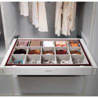 Organizador para closet con cierre suave 800mm